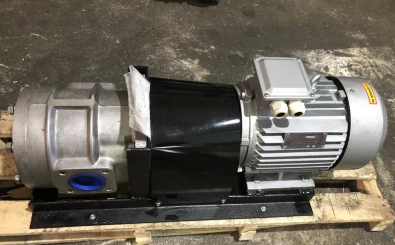 Насосный агрегат НШ32 с электродвигателем на станине