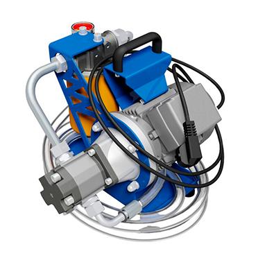 Мини фильтровально-заправочная установка МФЗУ 23 л/мин.