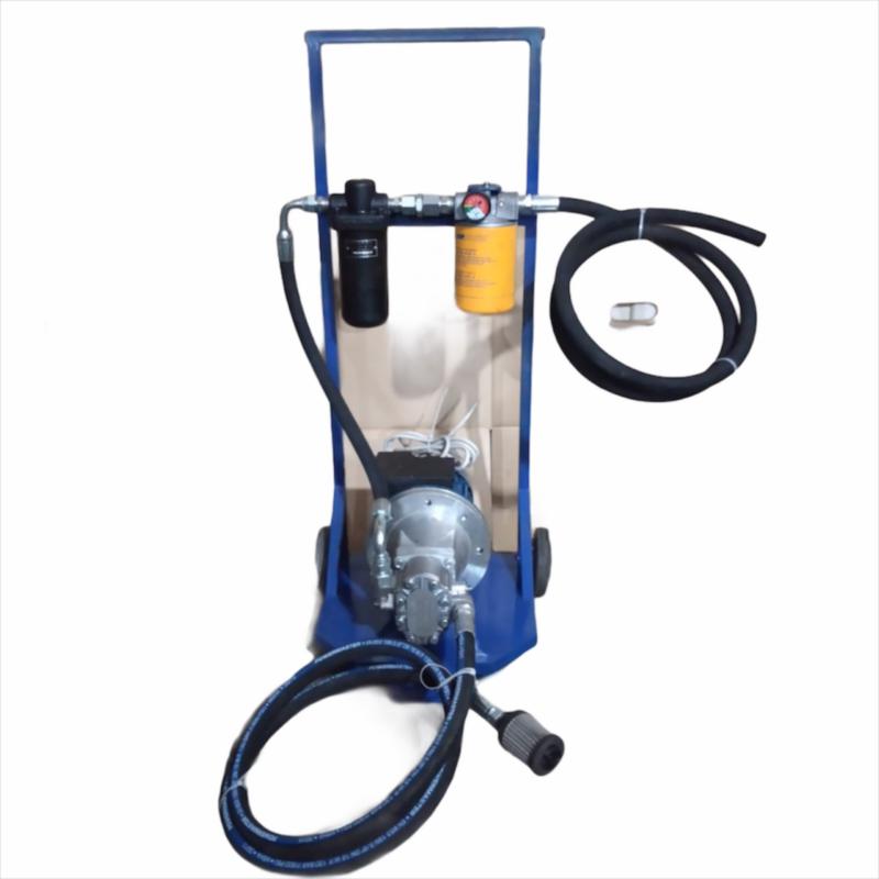 Мини фильтровально-заправочная установка МФЗУ 6 л/мин.