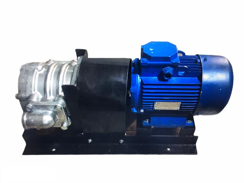 Насосный агрегат НШ10 с электродвигателем на станине